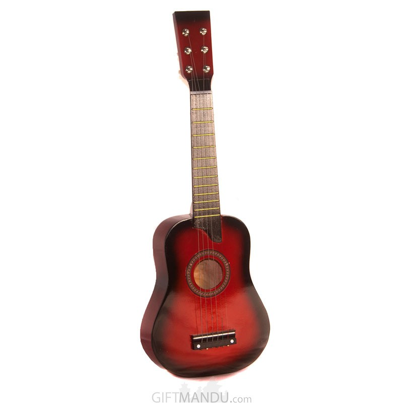 Acoustic Beginner Guitar For Kids - 6 Strings - Red
