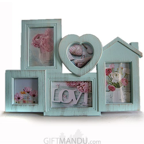 Love Home 5 in 1 Collage Pictures Frame