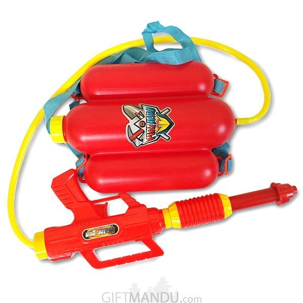 Firefighter Backpack Water Gun Pressure For Childrens