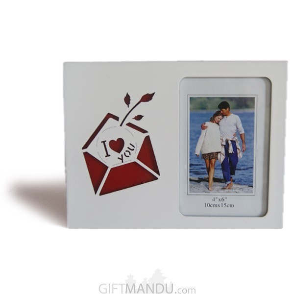 """I Love You"" Message Beautiful Photo Frame  - Table Top"