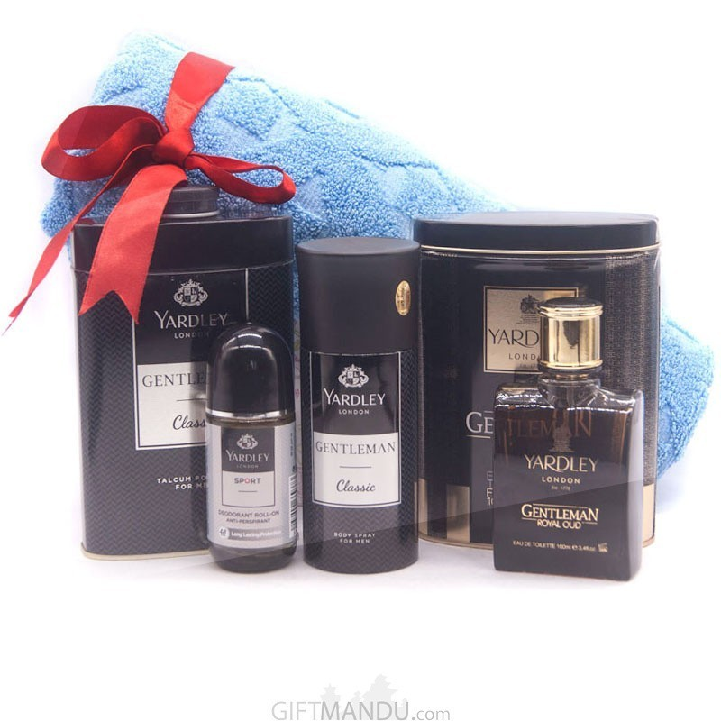 Yardley Special Grooming Combo Gift Set For Him