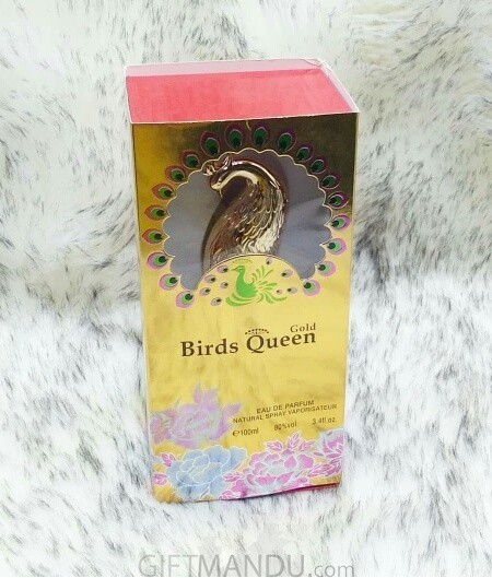 Gold Birds Queen Perfume by Tiverton For Her - 100ml