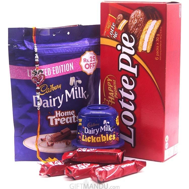 Cadbury Home Treat Pack With Rakhi
