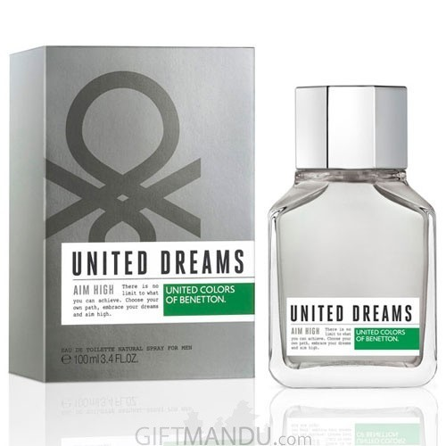 United Dreams Aim High by United Colors of Benetton EDT Perfume 100ml for Him